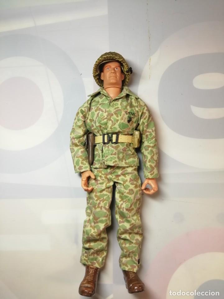 Figuras de acción: USMC WWII GI JOE HASBRO 2001 GI JOE 1/6 - Foto 2 - 221962645