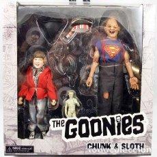 Figuras de acción: THE GOONIES (CHUNK & SLOTH). Lote 224603758