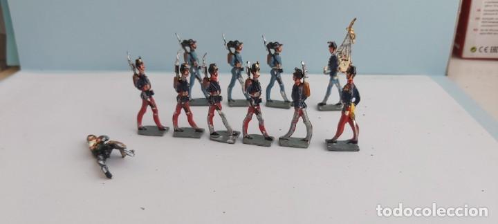LOTE DE SOLDADITOS DE PLOMO ESPAÑOLES (Juguetes - Figuras de Acción - Otras Figuras de Acción)