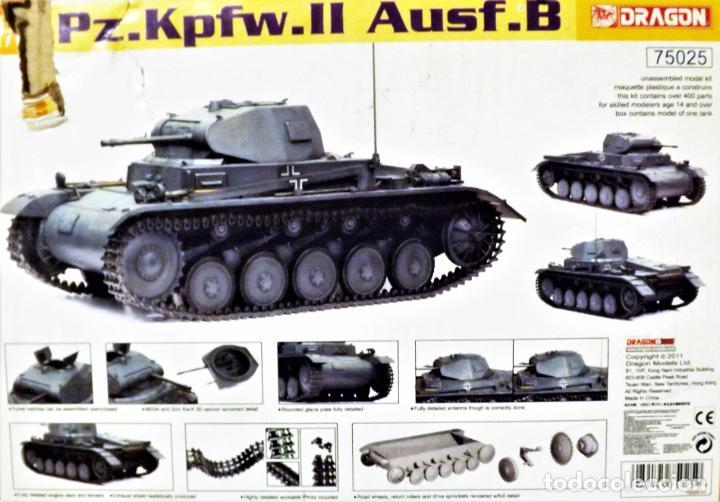 Figuras de acción: Dragon Models Panzer Kpfw II Escala 1:6 Ref. 75025 - Foto 3 - 227063140