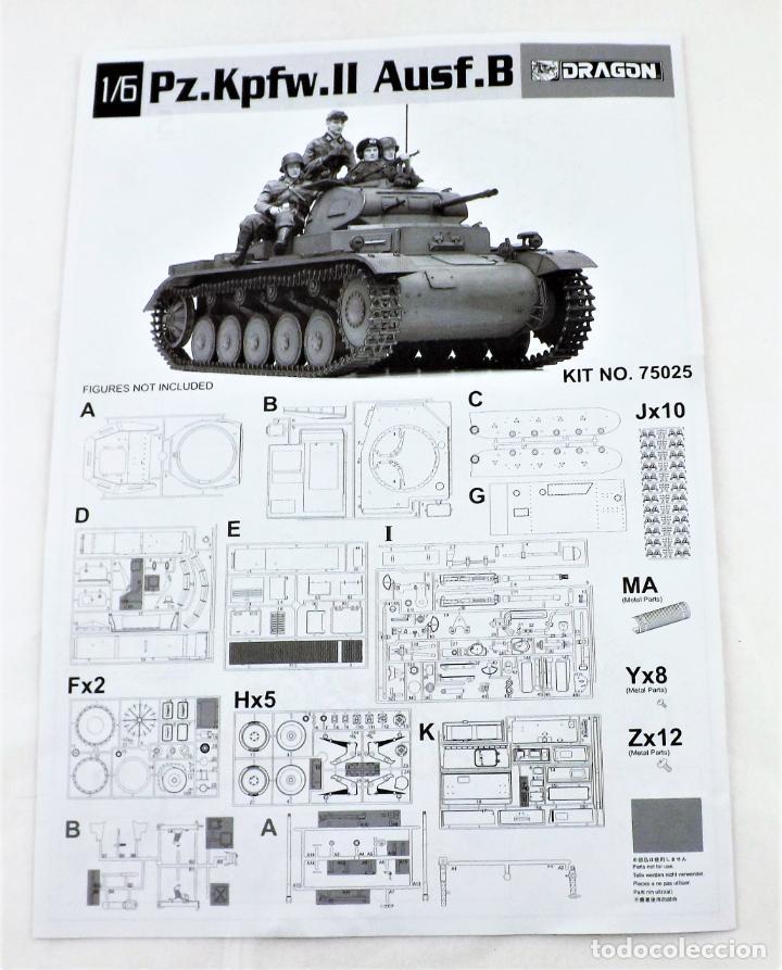 Figuras de acción: Dragon Models Panzer Kpfw II Escala 1:6 Ref. 75025 - Foto 4 - 227063140