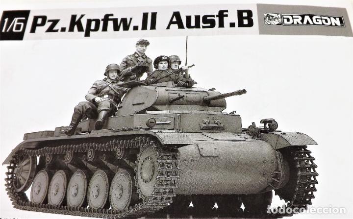 Figuras de acción: Dragon Models Panzer Kpfw II Escala 1:6 Ref. 75025 - Foto 2 - 227063140