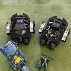 Figuras de acción: LOTE BATMAN BATMOVIL FIGURAS BATMAN Y AEROBAT. Lote 227565720