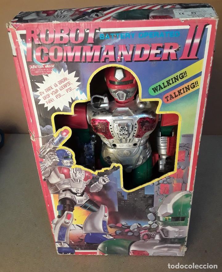 ANTIGUO ROBOT COMMANDER II AÑOS 70/80 (Juguetes - Figuras de Acción - Otras Figuras de Acción)