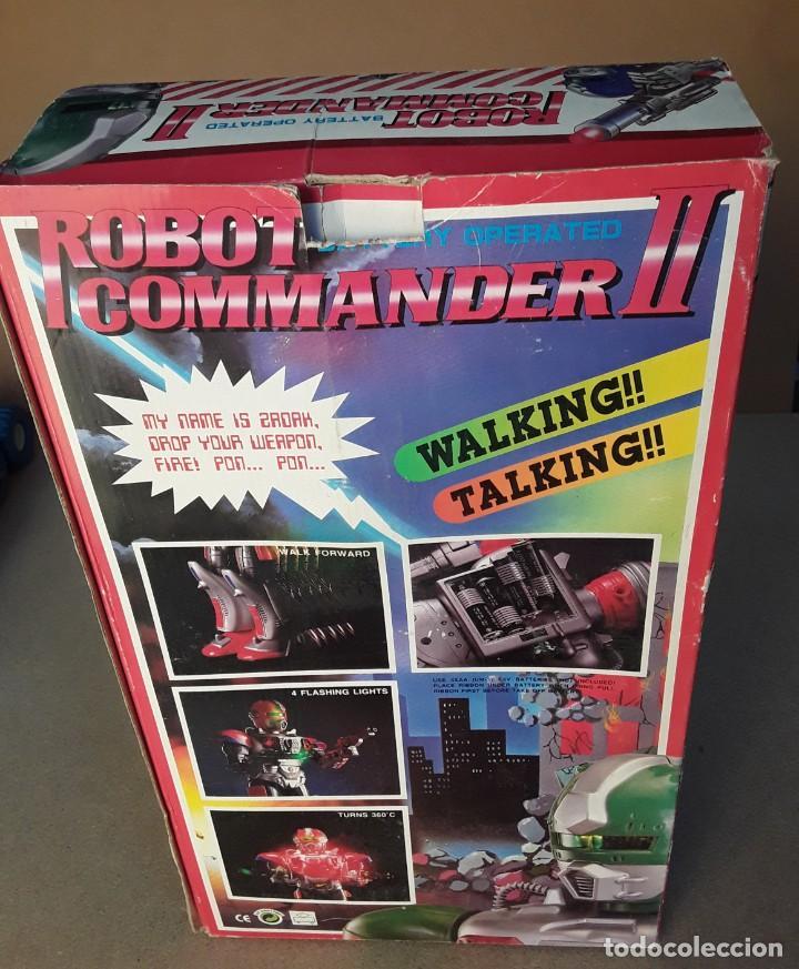 Figuras de acción: Antiguo robot commander II años 70/80 - Foto 2 - 227898101