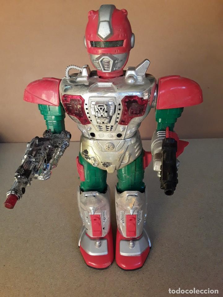 Figuras de acción: Antiguo robot commander II años 70/80 - Foto 5 - 227898101