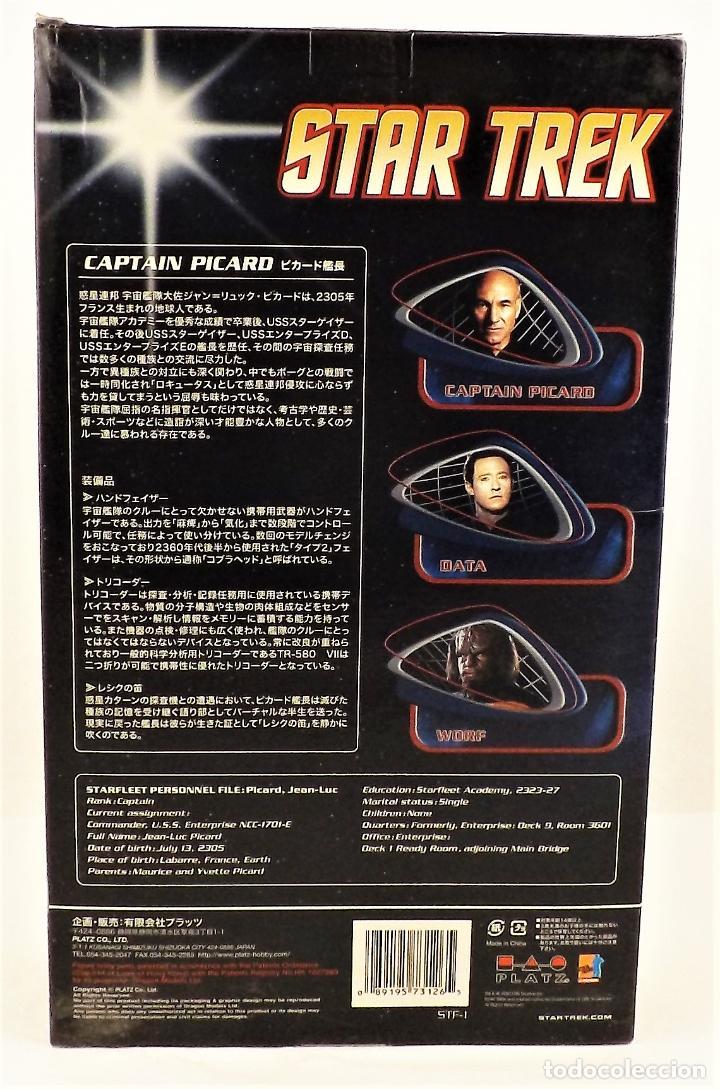 Figuras de acción: Dragon Models Star Trek Captain Picard. Escala 1:6 - Foto 8 - 252054650