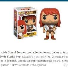 Figuras de acción: ORIGINAL FUNKO POP! EXTRAÑOS Y SURREALITA: SON OF ZORN: ZORN CON SALSA PICANTE - NUMERO 400. Lote 232613940
