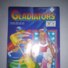 Figuras de acción: GLADIATORS FIGURA DE ACCION AÑOS 90 BLISTER SIN ABRIR. Lote 235470565