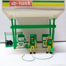 Figuras de acción: GASOLINERA BP PLAYBIG - JUGUETE AÑOS 70 (EN ESPAÑA SE VENDIÓ COMO CEFA BOYS). Lote 235807055