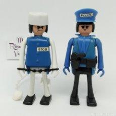 Figuras de acción: PLAYBIG POLICÍA Y PRESO, JUGUETE AÑOS 70 (EN ESPAÑA SE VENDIÓ COMO CEFA BOYS). Lote 236039140