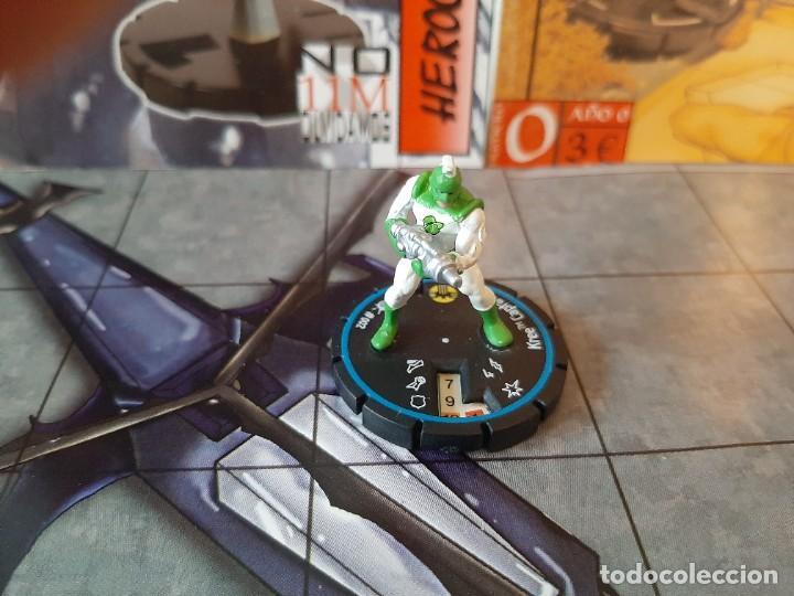 HEROCLIX #002 KREE CAPTAIN (Juguetes - Figuras de Acción - Otras Figuras de Acción)
