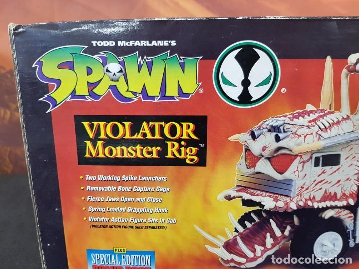 Figuras de acción: SPAWN VIOLATOR MONSTER RIG - VEHICULO -- TODD TOYS- 1994 - NUEVO - SIN ABRIR - PERFECTO - Foto 3 - 236254770