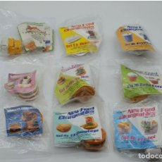 Figuras de acción: FIGURAS MUÑECOS MCDONALDS - FOOD CHANGEABLE TRANSFORMERS HAMBURGUESA (MAC DONALDS MACDONALDS) 80S. Lote 231214245