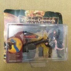 Figurines d'action: BLISTER PIRATAS DEL CARIBE DELUXE CAPTAIN JACK SPARROW. Lote 238060790