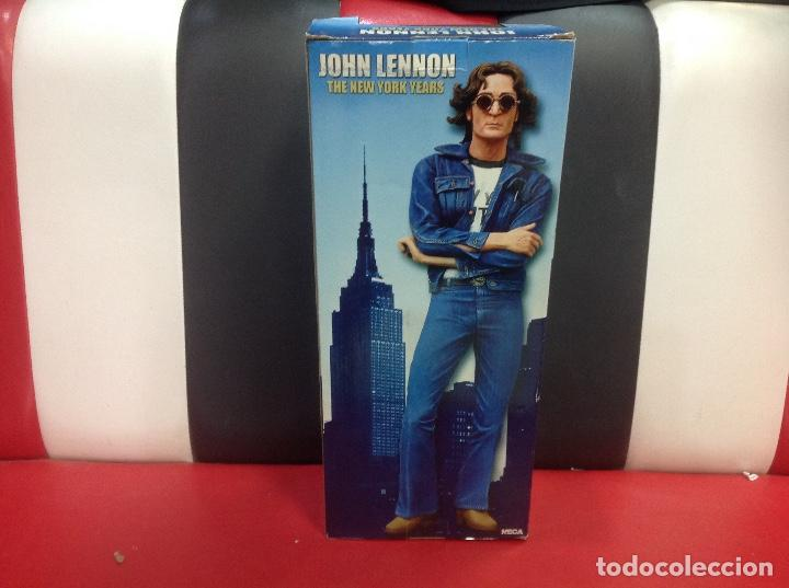 Figuras de acción: JOHN LENNON, THE NEW YORK YEARS FIGURA DE MUSICA ROCK NECA, 48CM, EN SU CAJA ORIGINAL - Foto 6 - 239942015