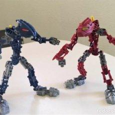 Figuras de acción: ROBOTS ARTICULADOS IMITACIÓN LEGO BIONICLE. Lote 240696890