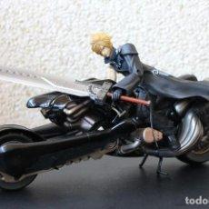 Figuras de acción: FIGURA CLOUD STRIFE CON MOTOCICLETA - ADVENT CHILDREN - SQUARE ENIX Nº 0 (FINAL FANTASY VII). Lote 240747835
