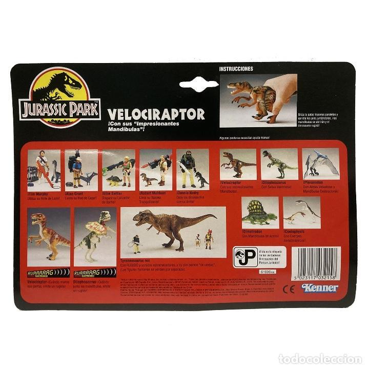 Figuras de acción: Kenner Jurassic Park Velociraptor . Vintage año 1.993 Nuevo. - Foto 5 - 268614369