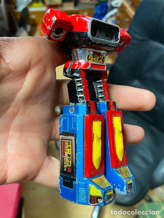 Figuras de acción: Daimos - Robot transformable - Hecho en Japón por Popy Bandai en 1978 mazinger - Foto 2 - 241863615