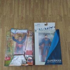 Figuras de acción: FIGURA DE ACCIÓN SUPERMAN DC UNIVERSE CÓMICS 75 YEARS OF SUPER POWER Y JUSTICE LEAGUE SÚPER MAN. Lote 242848715