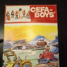 Figuras de acción: CEFA-BOYS OBRAS PÚBLICAS. Lote 245277350