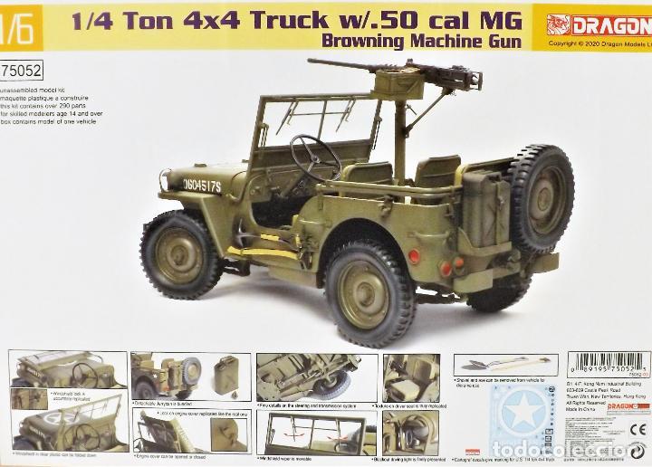 Figuras de acción: Jeep Willys de Dragon Models ¡¡¡ Escala 1:6 !!! - Foto 2 - 245429710