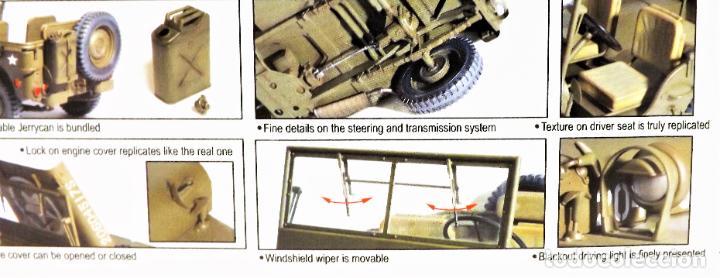 Figuras de acción: Jeep Willys de Dragon Models ¡¡¡ Escala 1:6 !!! - Foto 4 - 245429710