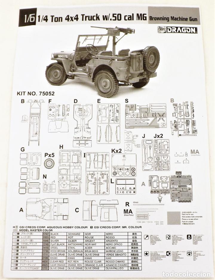 Figuras de acción: Jeep Willys de Dragon Models ¡¡¡ Escala 1:6 !!! - Foto 5 - 245429710