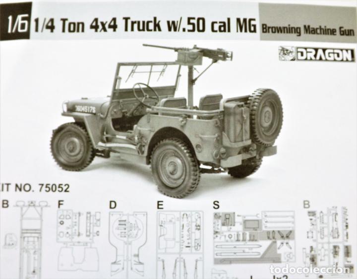 Figuras de acción: Jeep Willys de Dragon Models ¡¡¡ Escala 1:6 !!! - Foto 6 - 245429710