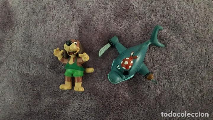 DELFI LOTE 2 FIGURAS VINTAGE GOMA PVC COMICS SPAIN (Juguetes - Figuras de Acción - Otras Figuras de Acción)