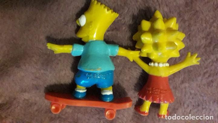 Figuras de acción: Simpsons lote 2 figuras vintage goma pvc Comics Spain - Foto 2 - 246019835