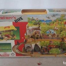 Figuras de acción: ADVENTURE'S BOX COMBATE DE MARINES REF ART 300/C MADE IN ITALY 1984 DE EUROSTIL. Lote 246188840
