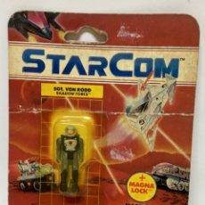 Figuras de acción: FIGURA MUÑECO STARCOM SGT. VON RODD. AÑOS 80. NUEVO EN BLISTER ORIGINAL.. Lote 246354005