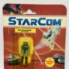 Figuras de acción: FIGURA MUÑECO STARCOM SGT ED KRAMER. AÑOS 80. NUEVO EN BLISTER ORIGINAL EN PERFECTO ESTADO.. Lote 246355465