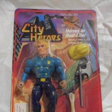 Figuras de acción: BLISTER CITY HEROES JEFE BOMBERO Nº 782 AÑOS 90. Lote 247605690