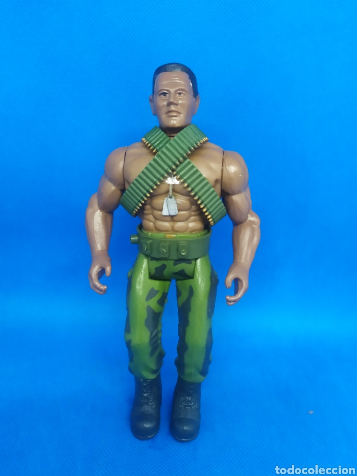 FIGURA SLAM M FORCE MILITARY MUSCLE MARCHON 1986 (Juguetes - Figuras de Acción - Otras Figuras de Acción)