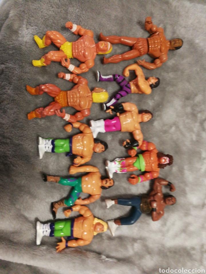 LOTE FIGURAS WWF Y BOOTLEG (Juguetes - Figuras de Acción - Otras Figuras de Acción)