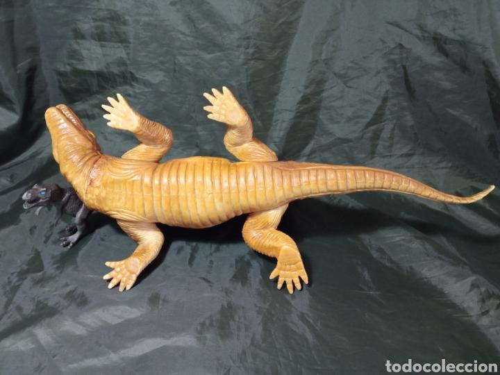 Figuras de acción: Dinosaurio gran tamaño Dimetrodon Tm 1999 47 cm de largo patas articuladas - Foto 4 - 258987900