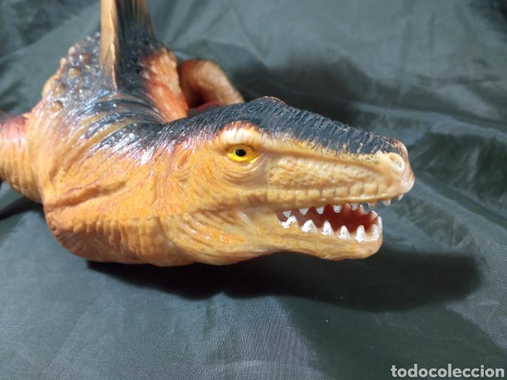 Figuras de acción: Dinosaurio gran tamaño Dimetrodon Tm 1999 47 cm de largo patas articuladas - Foto 7 - 258987900