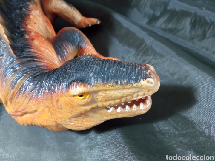 Figuras de acción: Dinosaurio gran tamaño Dimetrodon Tm 1999 47 cm de largo patas articuladas - Foto 8 - 258987900