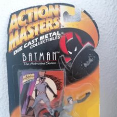 Figuras de acción: CATWOMAN ACTION MASTERS BATMAN THE ANIMATED SERIES KENNER 1994 METAL. Lote 262109690