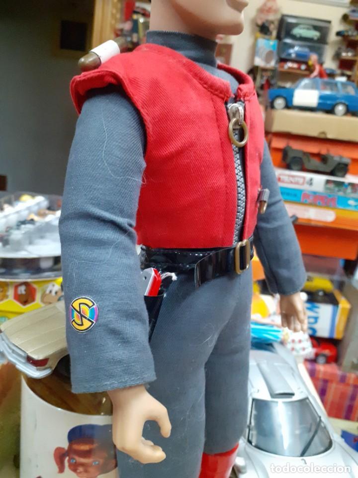 Figuras de acción: Capitán Escarlata,Spectrum.Carlton Int.1967 - 2001.39 cm de alto.Captain Scarlet and the Mysterons. - Foto 4 - 262299285
