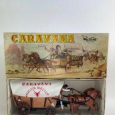 Figuras de acción: JUGUETE CARAVANA VICMA. MEDIADO S.XX.. Lote 265784584