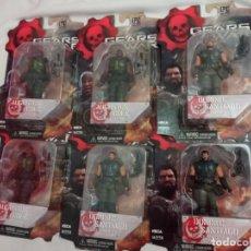 Figurines d'action: LOTE DE 6 FIGURAS GEARS OF WAR. Lote 267835774