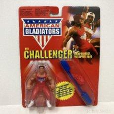 Figuras de acción: MATTEL AMERICAN GLADIATORS RED CHALLENGER. VINTAGE AÑO 1.991. NUEVO.. Lote 269957823