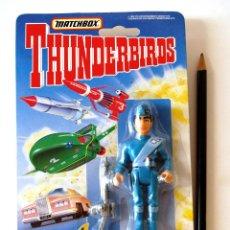 """Figuras de acción: THUNDERBIRDS FIGURA 9 CM ● SCOTT TRACY """"THUNDERBIRD 1"""" (NUEVA EN BLISTER, MATCHBOX 1992). Lote 270662563"""