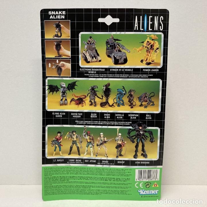Figuras de acción: Kenner Aliens Snake Alien. Año 1.992. Nuevo. - Foto 7 - 276955798