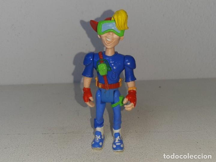 ANTIGUA FIGURA DE ACCION KIDS CLUB KID VID BOY REGALO PROMOCIONAL DE BURGUER KING AÑO 1990 (Juguetes - Figuras de Acción - Otras Figuras de Acción)