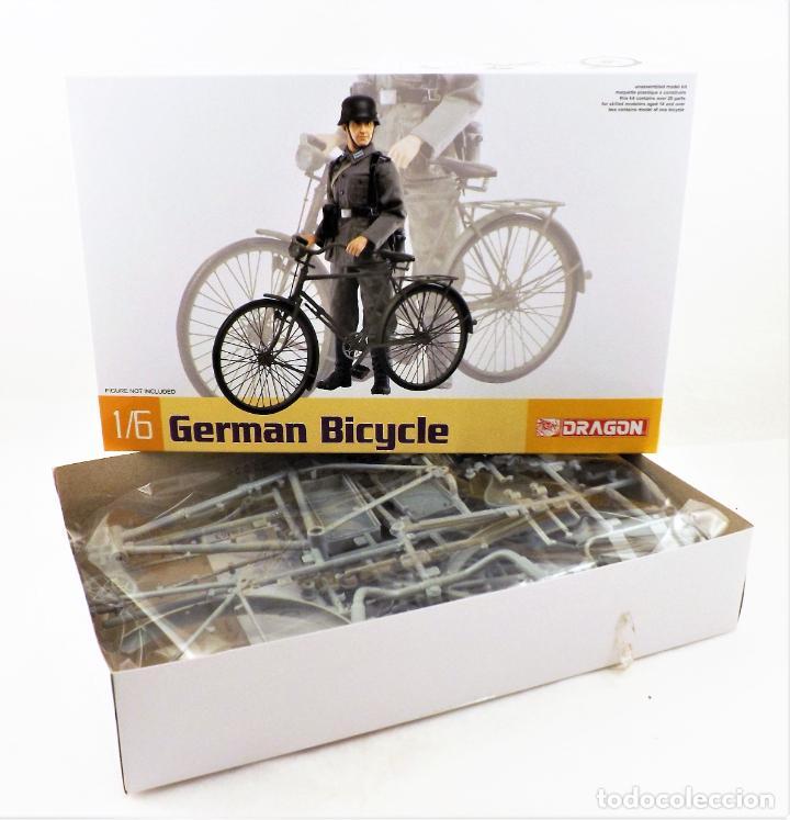 Figuras de acción: Dragon Models 1/6 German Bicycle (Bicicleta alemana) - Foto 2 - 278344323